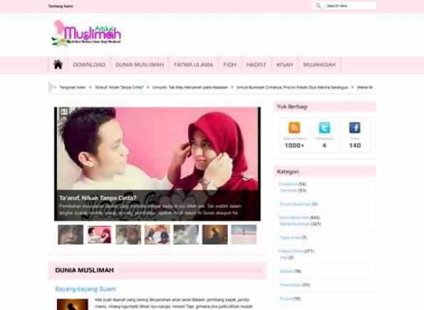 Web Artikel Muslimah